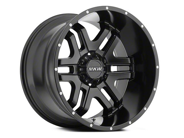 MKW Offroad M93 Full Satin Black 6-Lug Wheel - 18x9 (04-18 All)