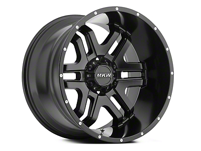 MKW Offroad M93 Full Satin Black 6-Lug Wheel - 18x9 (04-18 All)