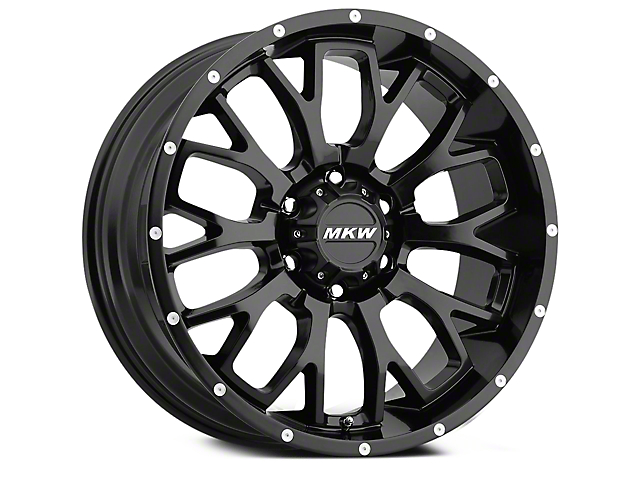 MKW Offroad M95 Full Satin Black 6-Lug Wheel - 20x9 (04-18 All)