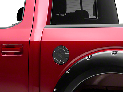 RBP RX-2 Locking Fuel Door - Black (15-17 All)