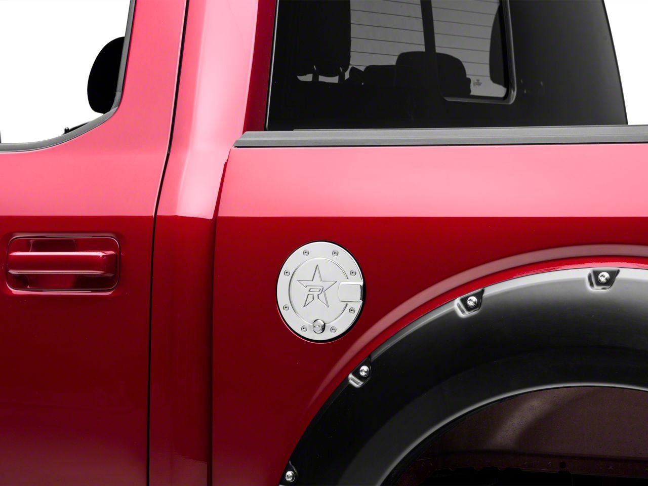 RBP RX-2 Locking Fuel Door - Polished (15-19 F-150, Excluding Diesel)