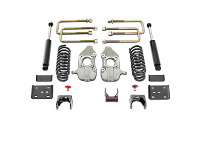 Max Trac 3 in. Front / 5 in. Rear Lowering Kit (11-14 2WD 3.5L Ecoboost, 5.0L)