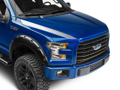 Silver Hood Accent Decals (15-19 F-150)