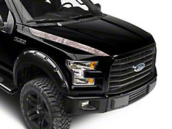 SEC10 Hood Accent Decal; Real Tree Camo (15-20 F-150)