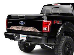 SEC10 Lower Tailgate Panel Accent Decal; Real Tree Camo (15-17 F-150)