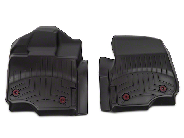 Weathertech DigitalFit Front Floor Liners - Black (15-19 F-150 w/ Vinyl Floors)