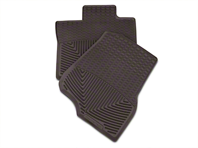 Weathertech All Weather Front Rubber Floor Mats - Cocoa (15-18 SuperCab, SuperCrew)