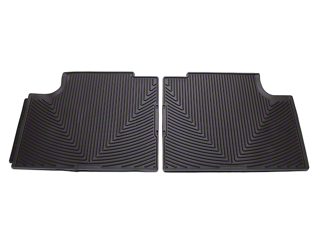 Weathertech All Weather Rear Rubber Floor Mats - Cocoa (15-18 F-150 SuperCab, SuperCrew)