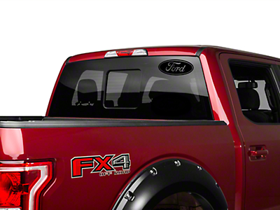Black Ford Oval - 12 in. (97-18 F-150)