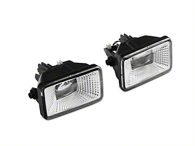Raxiom Clear LED Fog Lights (15-18 F-150, Excluding Raptor)