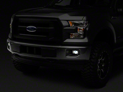 Raxiom Smoked LED Fog Lights (15-18 F-150, Excluding Raptor)