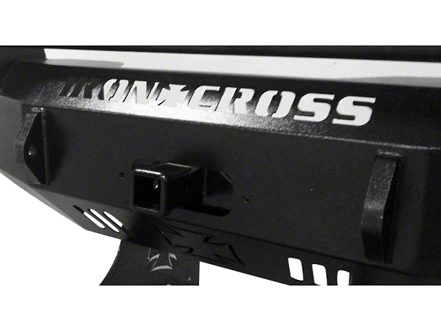 Iron Cross 2 in. Receiver Winch Plate for Iron Cross Front Bumpers (97-18 All)