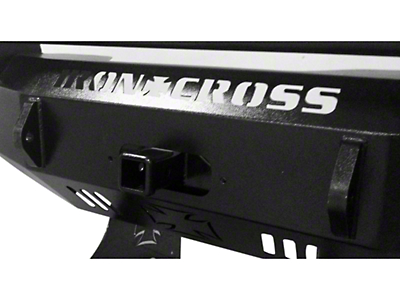 Iron Cross 2 in. Receiver Winch Plate for Iron Cross Front Bumpers (97-18 F-150)