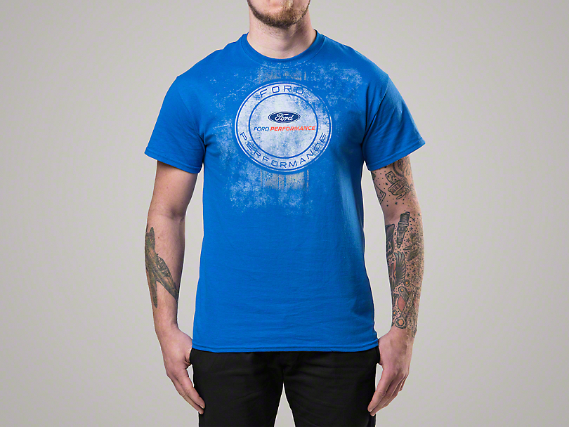 Ford Performance Distressed Emblem T-Shirt