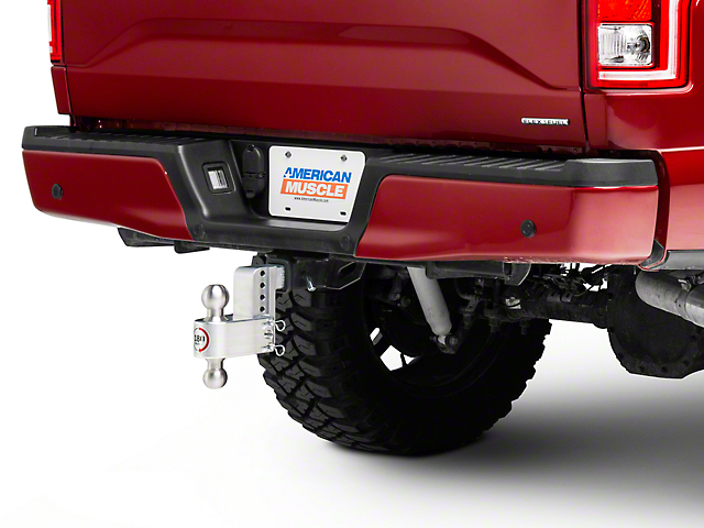 Weigh Safe 2 in. Receiver Hitch 180 Degree Adjustable Ball Mount - 4 in. Drop Hitch (97-18 F-150)
