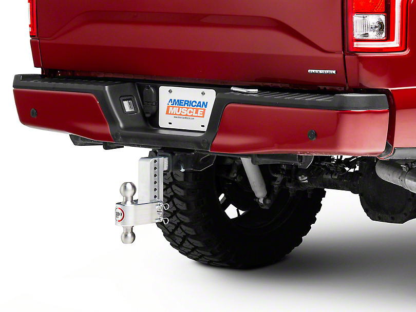 Weigh Safe 2 in. Receiver Hitch 180 Degree Adjustable Ball Mount - 6 in. Drop Hitch (97-18 F-150)