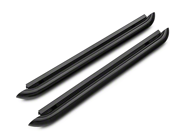 Iron Cross Plus Step Nerf Bars - Black (15-17 Regular Cab, SuperCab)