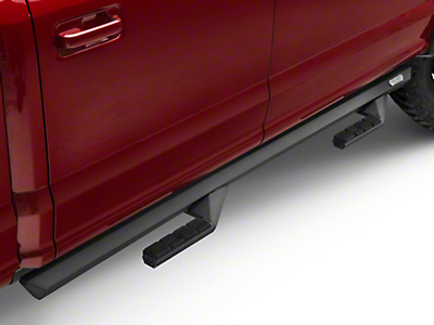 Iron Cross Side Arm Steps - Black (15-18 F-150 SuperCab, SuperCrew)