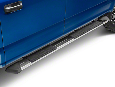 Iron Cross Patriot Board Side Step Bars - Polished Stainless (15-18 F-150 SuperCrew)