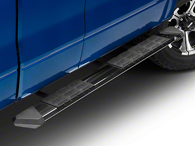 Iron Cross Patriot Board Side Step Bars - Polished Stainless (09-14 F-150 SuperCrew)
