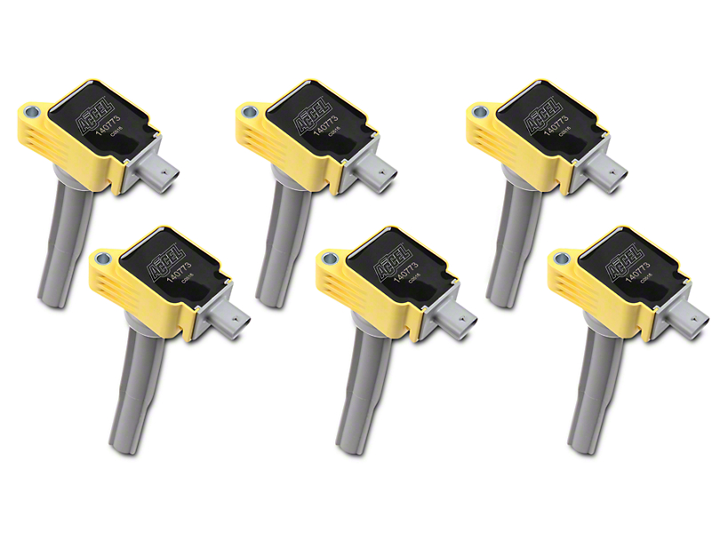 Accel Super Coil Packs - Yellow (15-19 2.7L EcoBoost F-150)