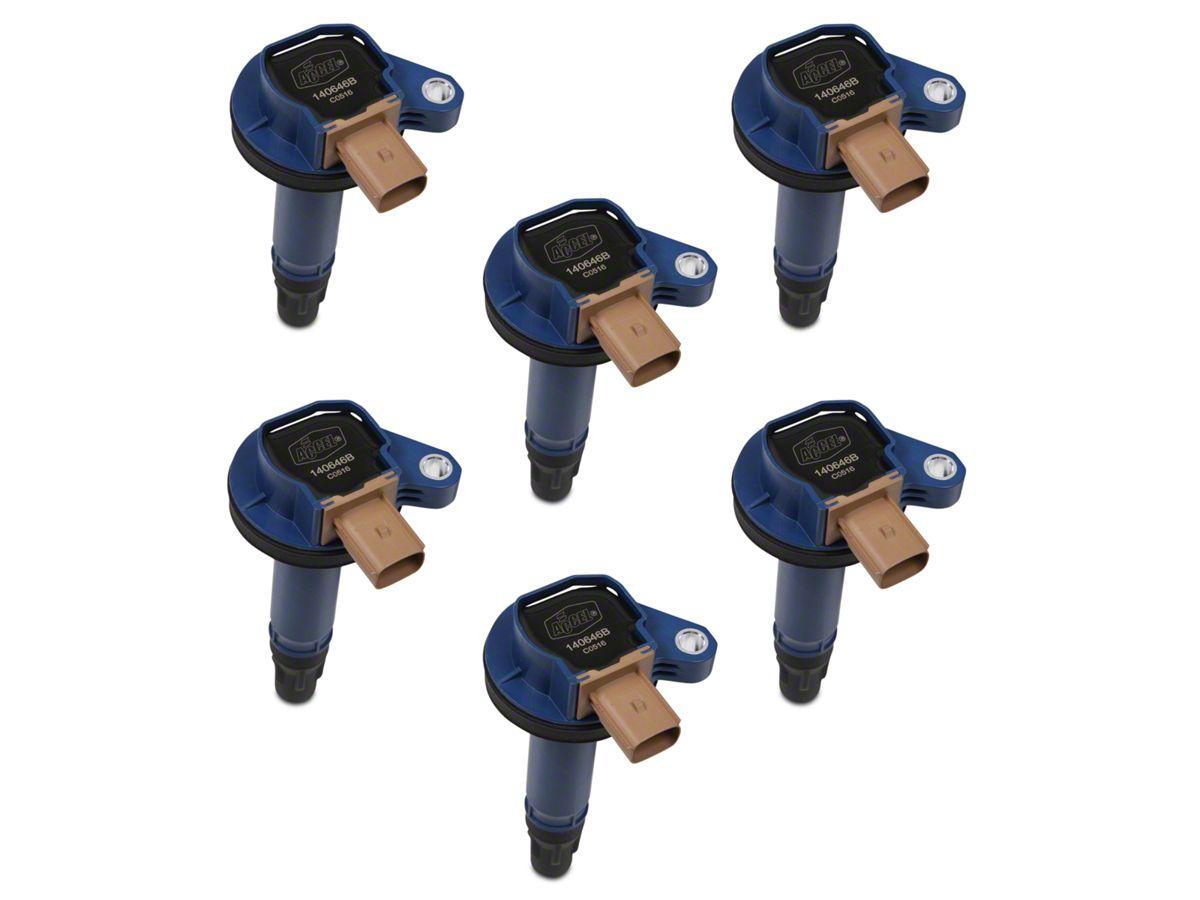 Accel Super Coil Packs Blue 11 16 35l Ecoboost F 150