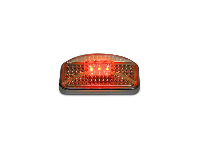 Putco Red LED w/ Ion Chrome Lens Side Marker (97-17 All)