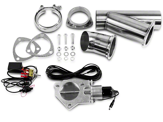 GMS Electronic Exhaust Cutout System - 4 in. (97-17 All)