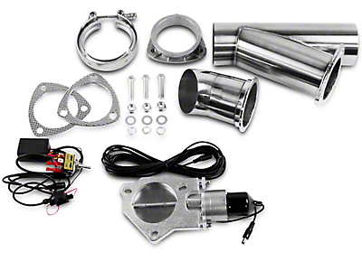 GMS Electronic Exhaust Cutout Single System - 4 in. (97-17 All)
