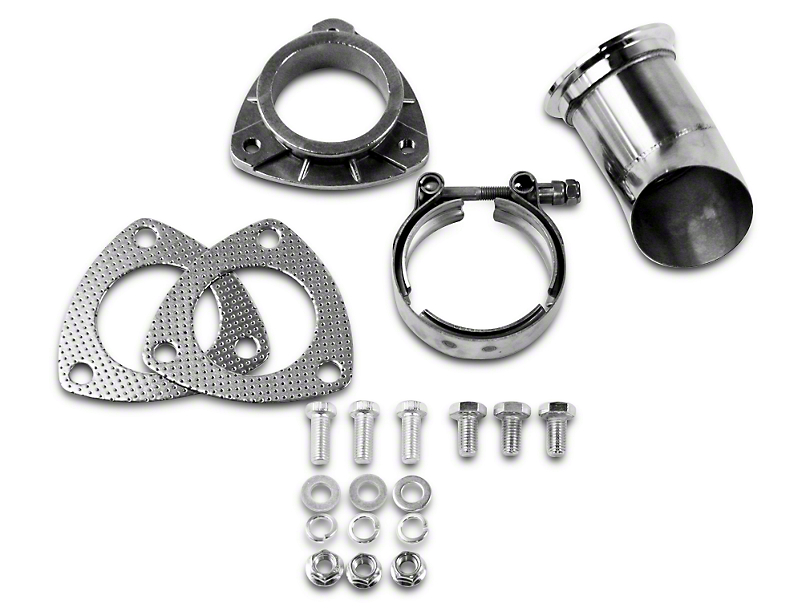 GMS Exhaust Cutout Adjustable Turn Down - 2.5 in. (97-17 All)