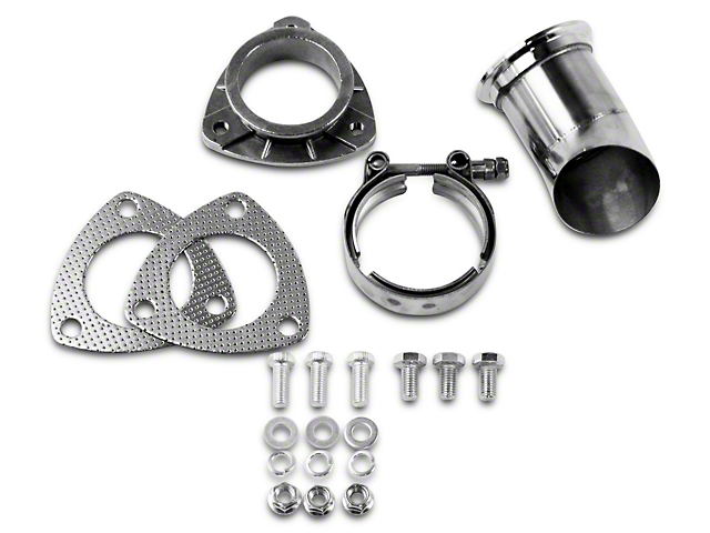 GMS Exhaust Cutout Adjustable Turn Down - 2.5 in. (97-18 All)