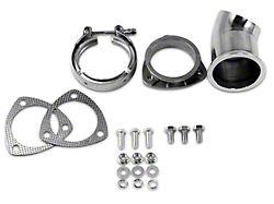 Granatelli Motor Sports Exhaust Cutout Adjustable Turn Down; 3-Inch; Pair (Universal Fitment)