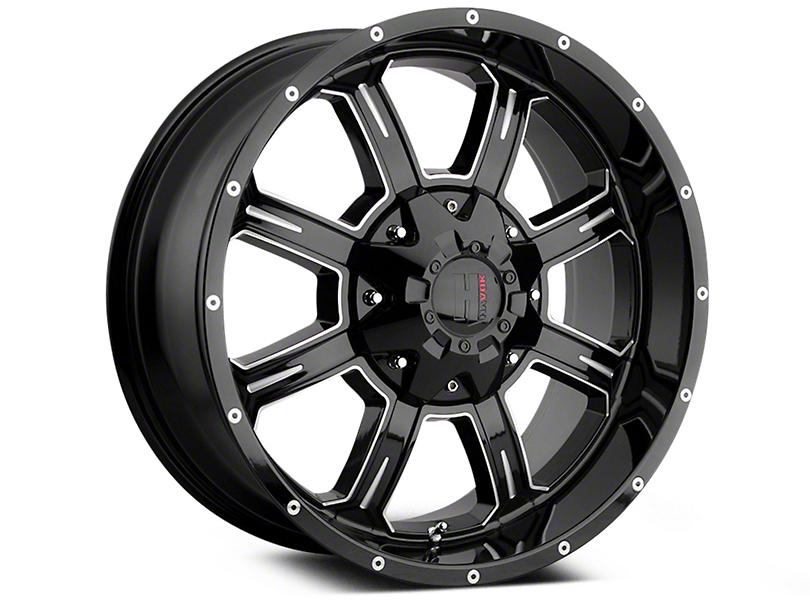 Havok Off-Road H101 Black Milled 6-Lug Wheel - 18x9 (04-18 All)