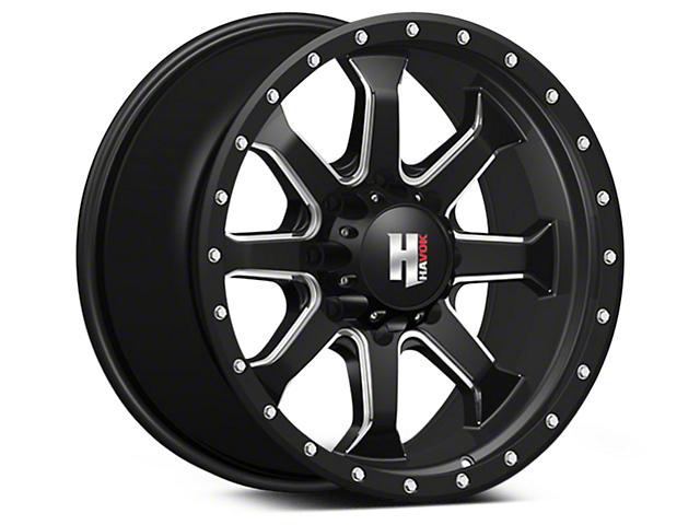 Havok Off-Road H105 Black Milled 6-Lug Wheel - 18x9 (04-18 All)