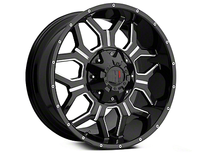 Havok Off-Road H106 Black Milled 6-Lug Wheel - 20x9 (04-18 All)