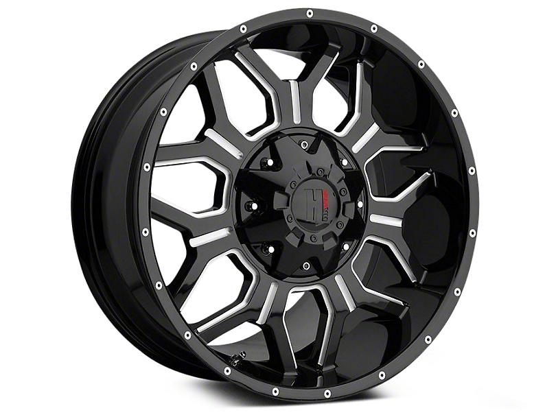 Havok Off-Road H106 Black Milled 6-Lug Wheel - 18x9 (04-18 All)