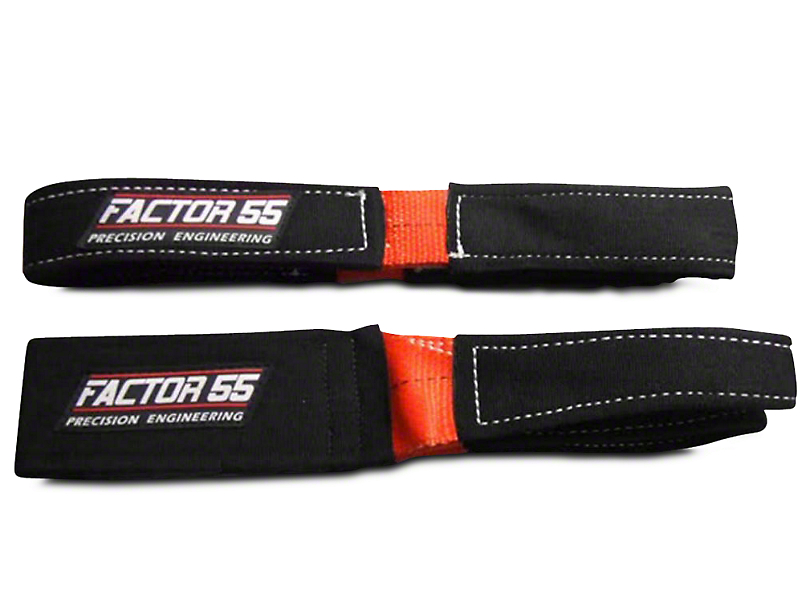 Factor 55 Shorty Strap II - 3 ft. x 2 in. (97-18 All)
