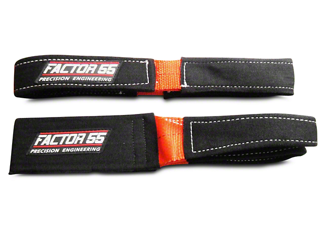 Factor 55 Shorty Strap III - 3 ft. x 3 in. (97-17 All)