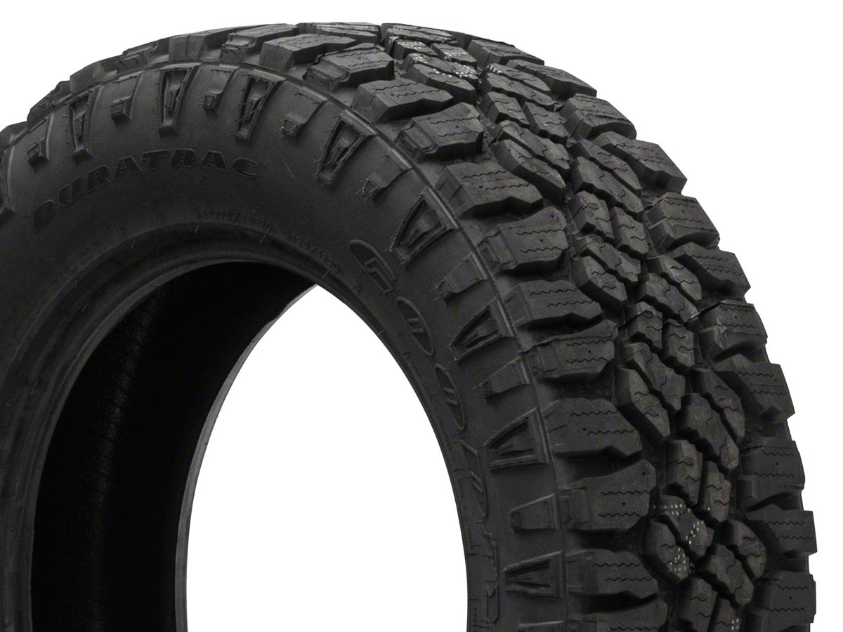 F And F Tire >> Goodyear Wrangler Duratrac Tire Available From 31 In To 35 In Diameters