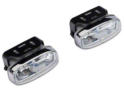 PIAA 2100 Series Xtreme White Halogen Lights - Fog Beam - Pair (97-17 All)