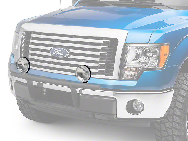 PIAA 40 Series 6 in. Round Clear Halogen Light - Driving Beam (97-18 F-150)
