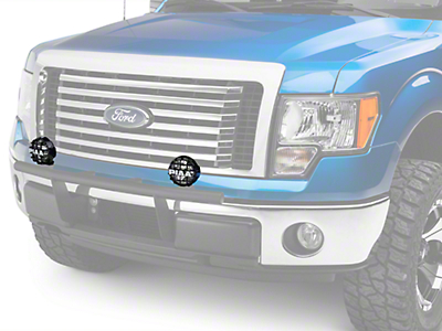 PIAA 510 Series 4 in. Round Xtreme White SMR Light - Driving Beam (97-18 F-150)