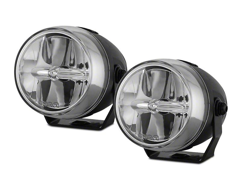 PIAA LP270 2.75 in. Round LED Lights - Fog Beam - Pair (97-18 All)