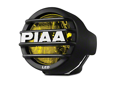 PIAA LP530 3.5 in. Round Ion Yellow LED Light - Driving Beam (97-17 All)