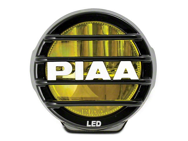 PIAA LP530 3.5 in. Round Ion Yellow LED Light - Fog Beam (97-17 All)