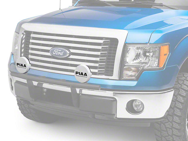 PIAA 520/40 Series 6 in. Round Solid White Cover w/ PIAA Logo (97-18 F-150)