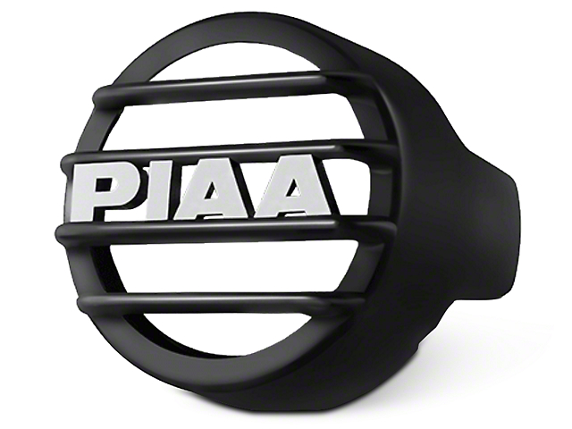 PIAA LP530 Series 3.5 in. Round Black Mesh Grille w/ PIAA Logo (97-17 All)
