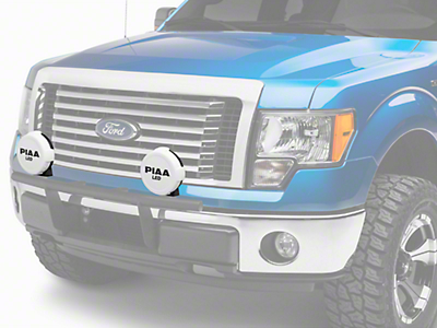 PIAA LP570 Series 7 in. Round Solid White Cover w/ PIAA Logo (97-18 F-150)