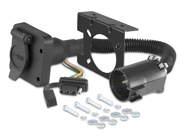 Curt Manufacturing 4-Way Flat and 6-Way Round Connectors (97-17 All)