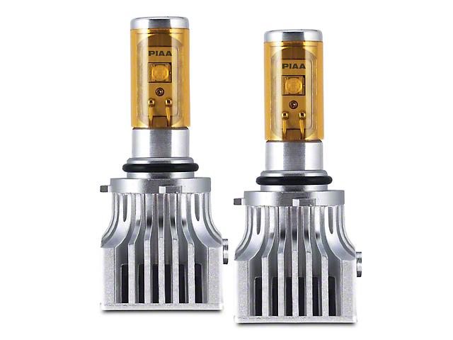 PIAA Performance Ion Yellow LED Fog Light Bulbs - 9006 (97-98 All)